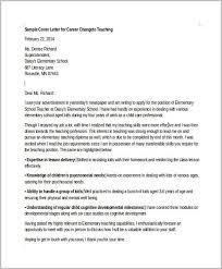 Sample Resume Cover Letter Career Change Cover Letter Resume Ideas
