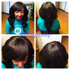 Hairstyles Without Weave Full Sew In Bob With No Leave Out Boblife Sewinbob