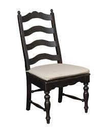 kincaid homecoming solid wood ladderback side chair set of 2 33 061 in