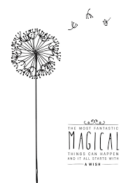 Small Picture Black and White Digital Disney Quote Poster Magical things can