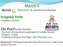 the pearl by john steinbeck verb forms active passive   5 irregular verbs the pearl by john steinbeck