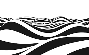 波の抽象イラスト 素材無料ダウンロード完全なbg Pattern無料