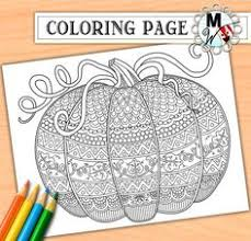 Small Picture Free Printable Harvest Pumpkin Coloring Page for Fall Halloween