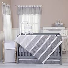 Baby Crib Bedding Sets for Boys & Girls - buybuy BABY & image of Trend Lab® Ombre Grey Bedding Collection Adamdwight.com