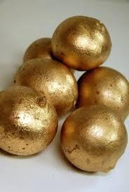 Decorative Balls For Bowls Canada Custom Decorative Balls For Bowl 32 Metallic Gold Balls Metallic Gold Gold