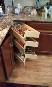 Kitchen Cabinet Slide Out Kitchen Utensils 20 Trend Pictures Blind Corner Kitchen Cabinet