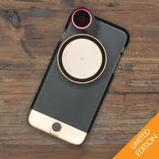 iphone 6 gold. metal series rose gold camera kit (limited edition) for iphone 6 plus / 6s iphone