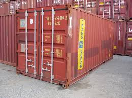 Sea Land Containers For Sale 20 Foot Storage And Shipping Container Chassiskingcom