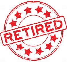 retirement banner clipart retirement signs clip art stock vector happy retirement banner