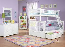 Columbia Twin over Full Bunk Bed White | Bedroom Furniture, Beds ...
