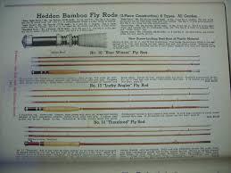 Ferrule Color Chart The Classic Fly Rod Forum Heddon Catalog Listings 1924 56