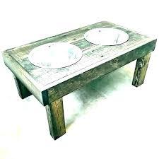 raised dog feeder with storage triple bowl elevated dog feeder 3 bowls with age food wooden raised dog feeder