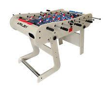 table football. riley 4ft azteca folding football table foosball