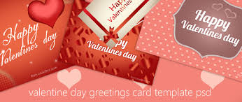 Free Download High Quality Happy Valentines Day Greeting Card Psd ...