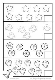 Summer For Kindergarten How Many Counting 1 Preschool Worksheets 10 ...