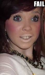 10 of the worst makeup fails ever you will see these and bee shocked