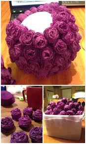 Diy Flower Balls Tissue Paper Twins In The Cities Diy Flower Ball Centerpieces Flower