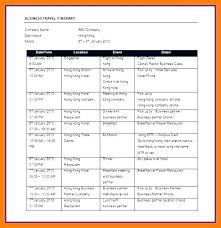 Travel Schedule Route Schedule Template Callatishigh Info