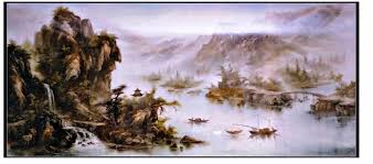 cp006 chinese oil painting chinese oil painting reproduced famous paintings reion masterpieces hand painted oil on canvas duplicate painting