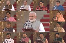 Narendra Modi Governments New Council Of Ministers Full