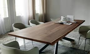 solid wood dining table. Simple Solid Wood Dining Table View In Gallery Dining-table-with-irregular- O