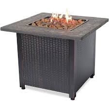Blue Rhino LP Gas Outdoor Fireplace - Walmart.com