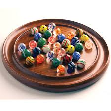 Wooden Solitaire Game With Marbles House of Marbles Google 2