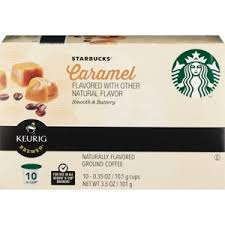 Enhance your brewing by purchasing from within the stunning. Starbucks Caramel Ground Coffee K Cup Pods Naturally Flavored 0 35 Oz 10ct Cvs Pharmacy