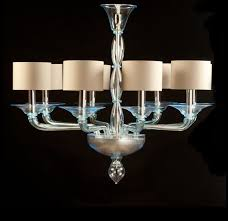 light blue lampshades glass chandelier foscarini bedroom by yourmurano lighting uk