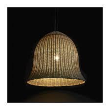 large rattan ceiling light n 2