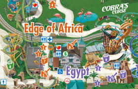 busch gardens tampa florida. Contemporary Florida Park Map  Theme For Busch Gardens Tampa Bay Throughout Florida D