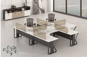 latest office table. Latest Mordern 4 Person Office Table 89-WF2828