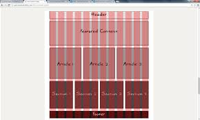 Design Grids For Web Pages Web Page Layout Leah Zimmerman