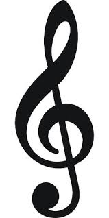 music clipart. music notes clipart black and white