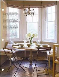 round kitchen table with bench seating eat in design