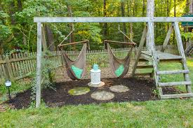 gorgeous swing set for s