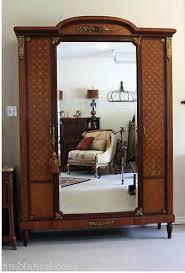 armoire furniture antique. Antique Mirrored Armoire Furniture .