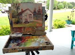 instructor will do a quick demo at the beginning of each painting session to get the ball rolling