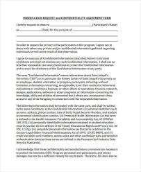 confidentiality agreement template beautiful confidentiality agreement form photos resume samples
