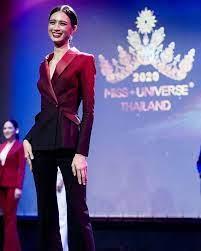 เฌอเอม ชญาธนุส ตัวเต็ง มิสยูนิเวิร์สไทยแลนด์ 2020 ถ่ายคู่แฟนหวาน ๆ  ความสูงไม่ใช่อุปสรรค