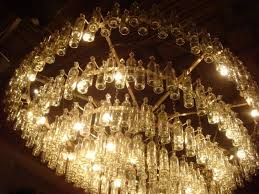 smoke colored chandelier crystals multi earrings champagne plastic prisms lighting cream gold magnetic coloured light bulbs
