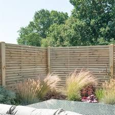 slatted fence panels