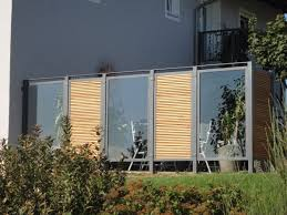 Terrassen Sichtschutz Glas Xu12 Hitoiro Glas Sichtschutz Terrasse