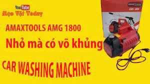 CÁCH LẮP ĐẶT MÁY RỬA XE AMAXTOOLS SIÊU KHỦNG,CAR WASHING MACHINE - YouTube