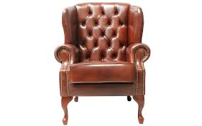 traditional wingback chairs. Armagh Leather Wing Chair Traditional Wingback Chairs