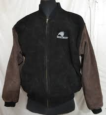 burks bay men s varsity jacket with leather sleeves o f 46 1 8 kg