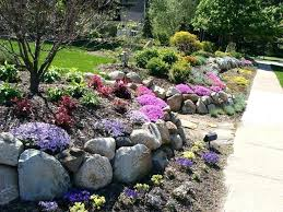 maple leaf landscaping rock wall garden design cost