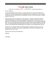 Best Emergency Services Cover Letter Examples Livecareer Security