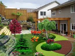 tips for front yard landscaping ideas front house garden design