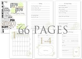 Pregnancy Journal Templates Adventures In Fluff Surro Files My Surrogacy Pregnancy Journal